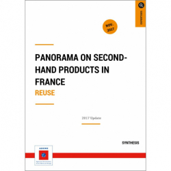 Panorama on second hand products in France. Reuse
