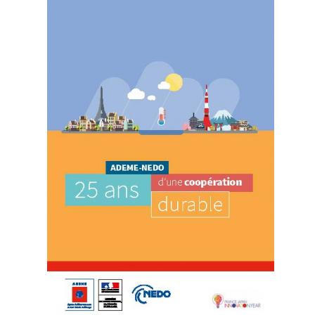 ADEME - NEDO : 25 ans d'une coopération durable