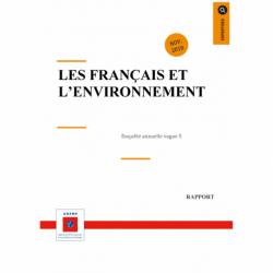"""Enquête """"Les français et l'environnement"""" : vague 5"""